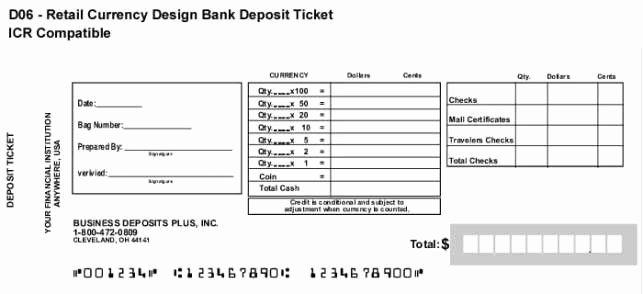 Free Printable Deposit Slips Template Lovely 10 Deposit Slip Templates Excel Templates