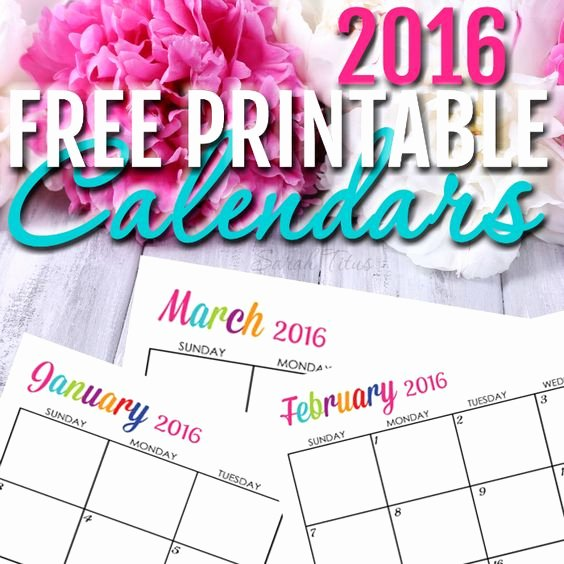 Free Printable Editable Calendar Best Of Calendar 2016 Calendar and Printable Calendars On Pinterest