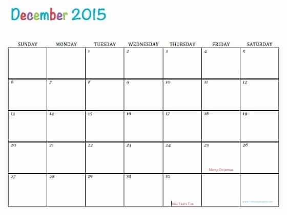 Free Printable Editable Calendar Best Of Free Printable Calendar December 2015