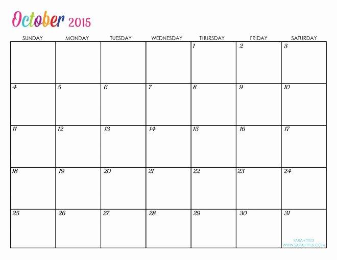 Free Printable Editable Calendar Elegant Custom Editable Free Printable 2015 Calendars Sarah