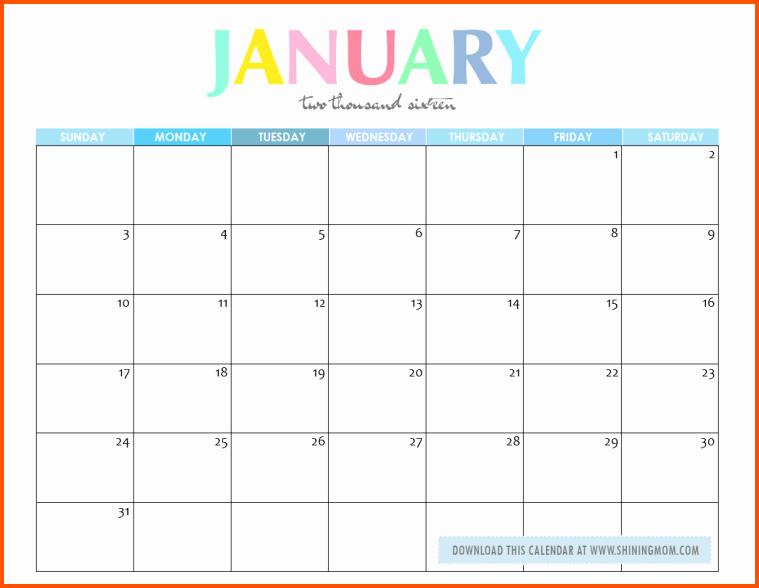 Free Printable Editable Calendar Lovely 10 Editable Printable Calendar