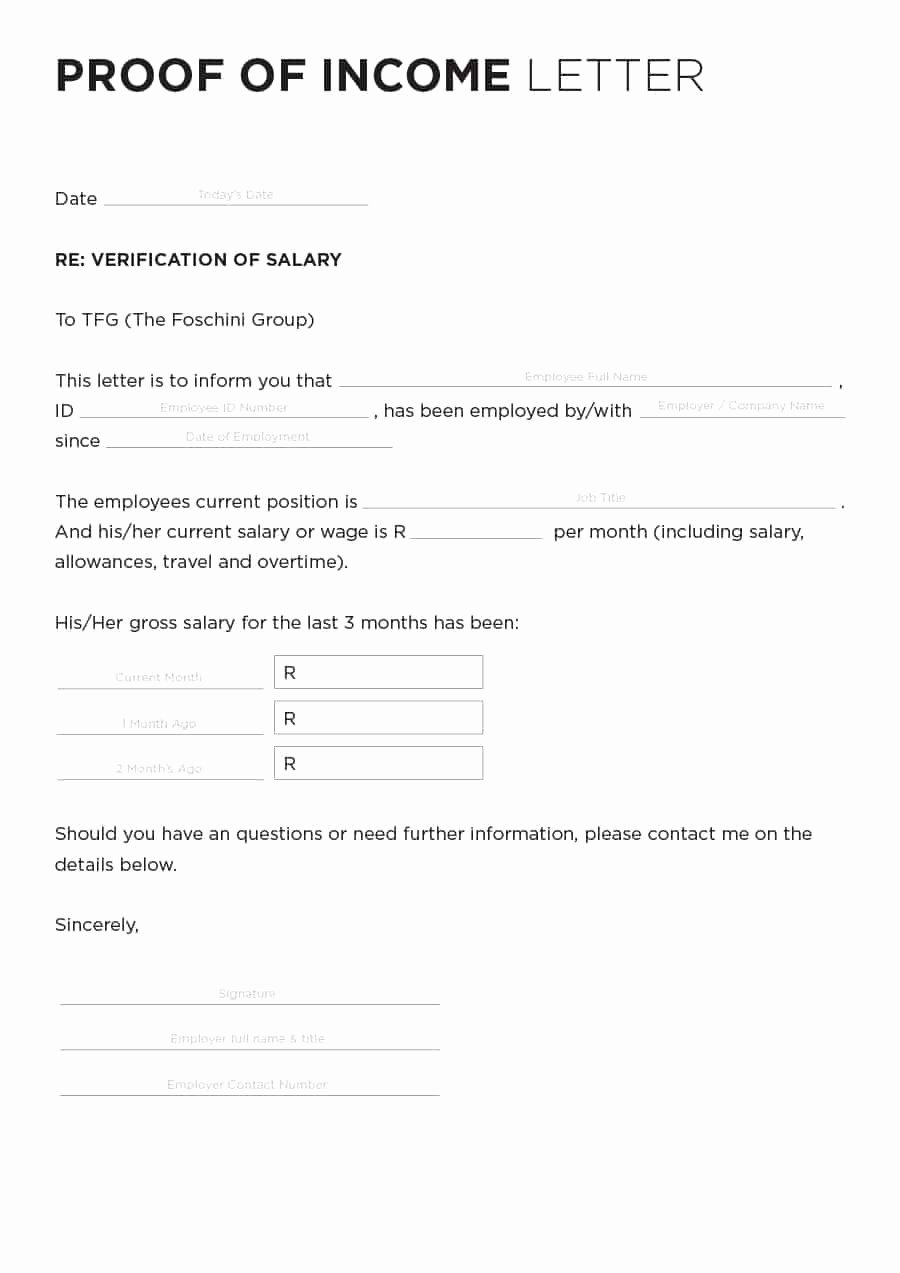 Free Printable Employment Verification Letter Elegant 40 In E Verification Letter Samples & Proof Of In E
