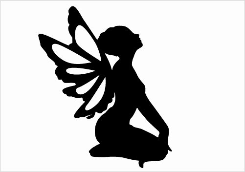 Free Printable Fairy Silhouette Awesome 9 Best Of Printable Fairy Silhouette Free Fairy