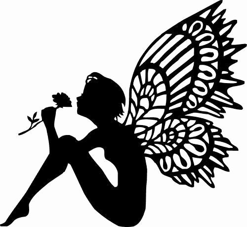 Free Printable Fairy Silhouette Awesome Silhouettes Of Fairies