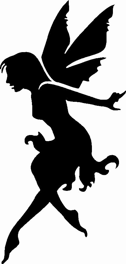 Free Printable Fairy Silhouette Beautiful Fairy Silhouette Fairies and Silhouette On Pinterest