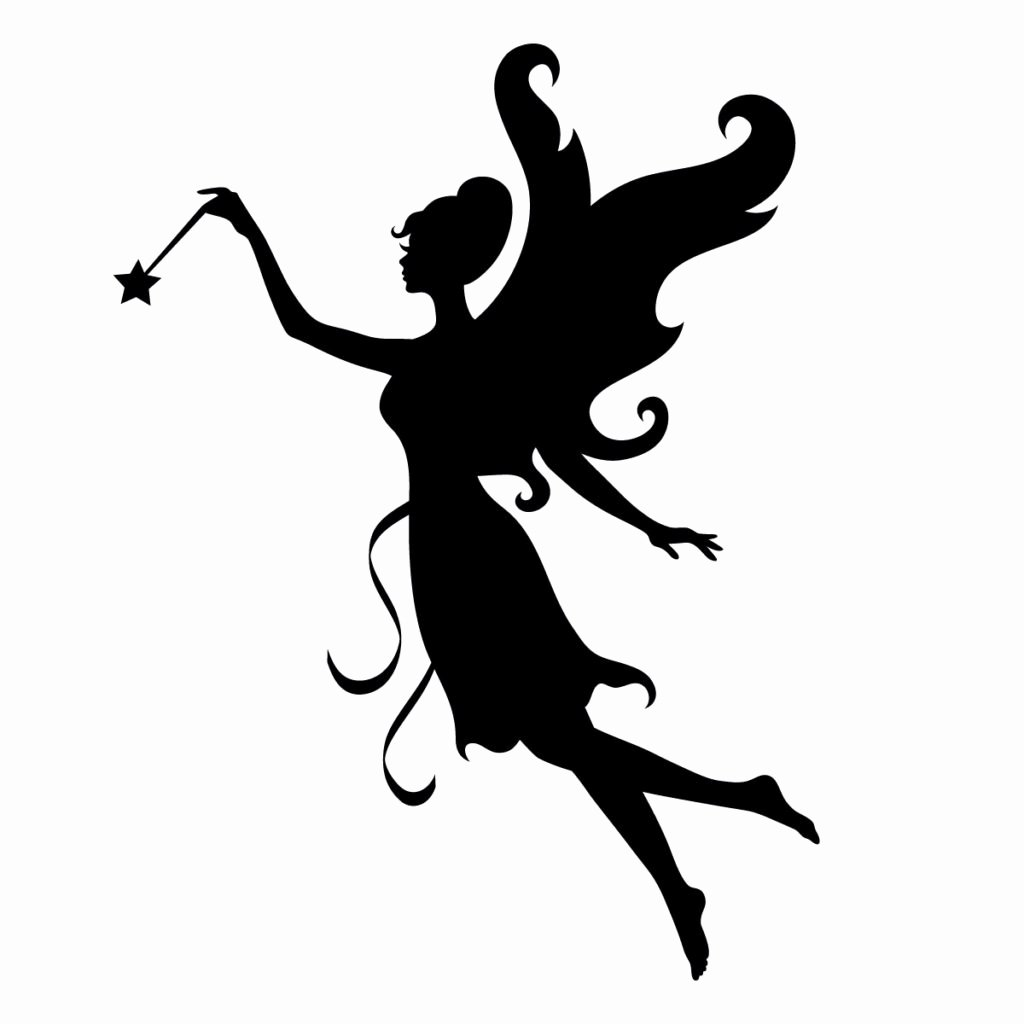 Free Printable Fairy Silhouette Beautiful Printable Fairy Silhouette at Getdrawings