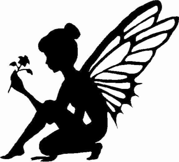 Free Printable Fairy Silhouette Luxury Fairy Silhouette with Flower Vinyl Decal Sticker Car Truck
