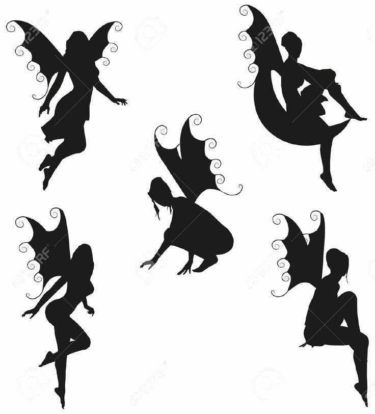 Free Printable Fairy Silhouette Unique 21 Best Images About Fairy Silhouette On Pinterest