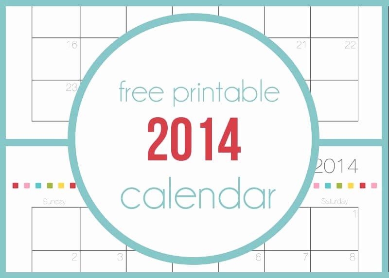 Free Printable Family Calendar New Free Printable 2014 Calendar I Heart Nap Time