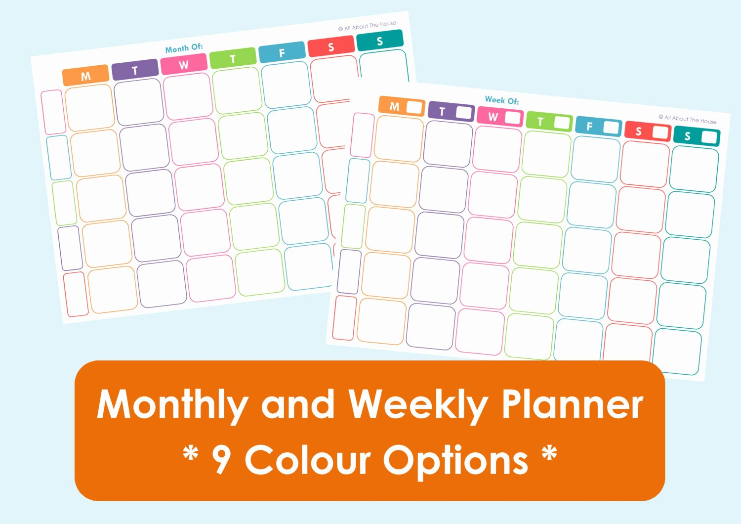 Free Printable Family Calendar New Printable Weekly Family Planner and Monthly Calendar 9