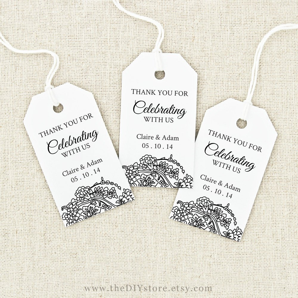 Free Printable Favor Tags Template Awesome Favor Tag Printable Text Editable Medium Tag Size Wedding