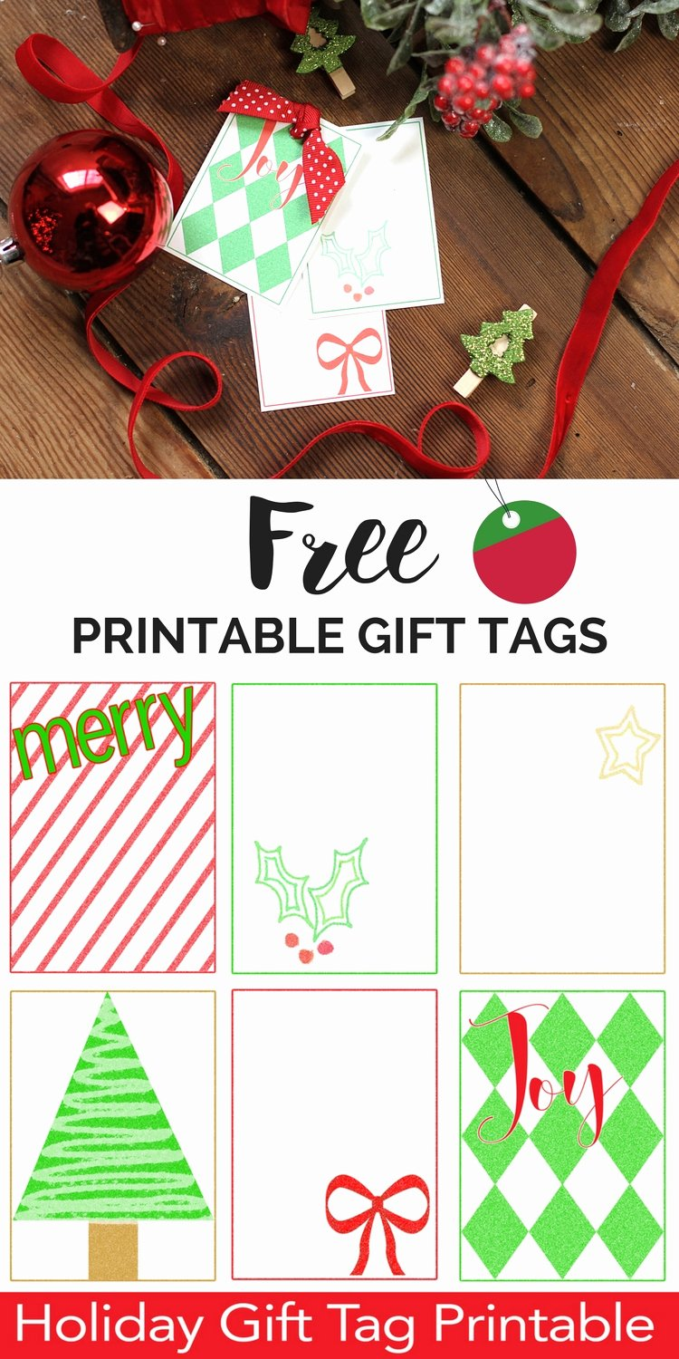 Free Printable Favor Tags Template Best Of Free Printable Christmas Gift Tags