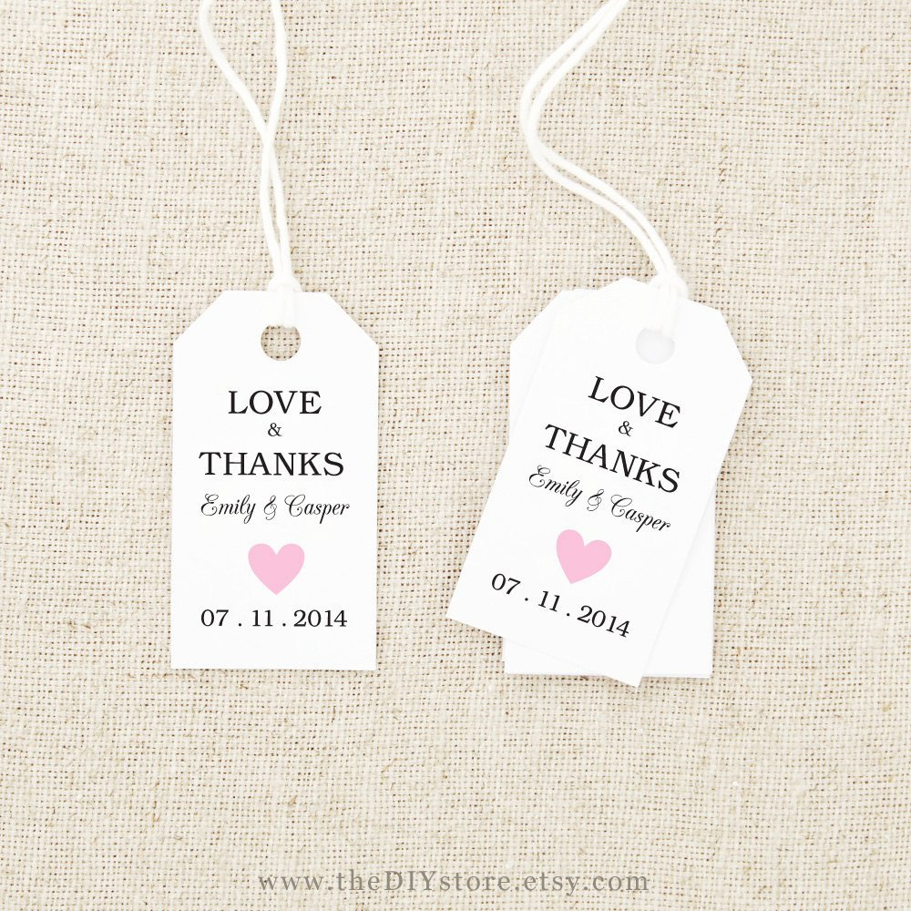 Free Printable Favor Tags Template Fresh 27 Of Thank You Favor Tag Template
