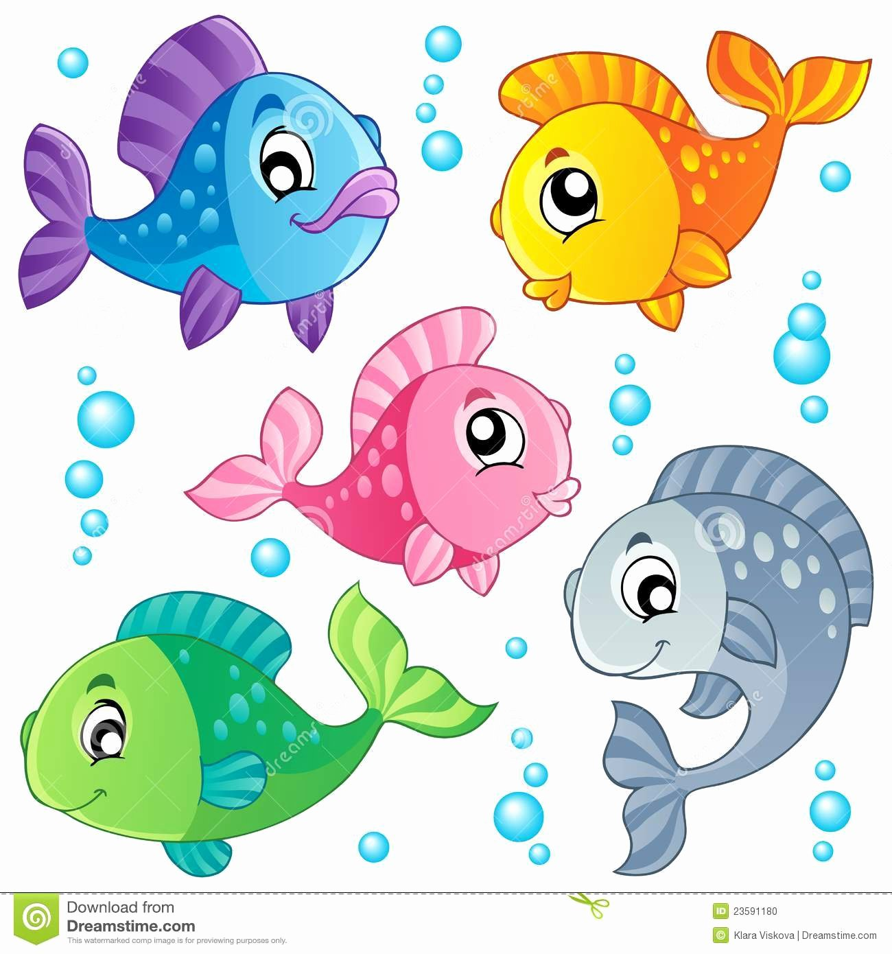 Free Printable Fish Pictures Luxury Pretty Fish Clipart Clipground