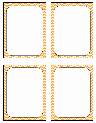 Free Printable Flash Card Templates Awesome 3 6 Free Resources Blank Review Flash Cards