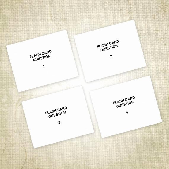 Free Printable Flash Card Templates Unique Flash Cards Printable Pdf Notecards for Studying Flashcards
