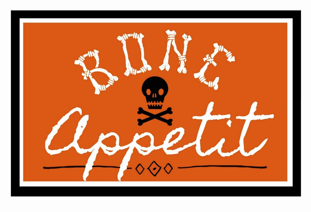Free Printable Halloween Pictures Best Of Bone Appetit Halloween Printables Clean and Scentsible