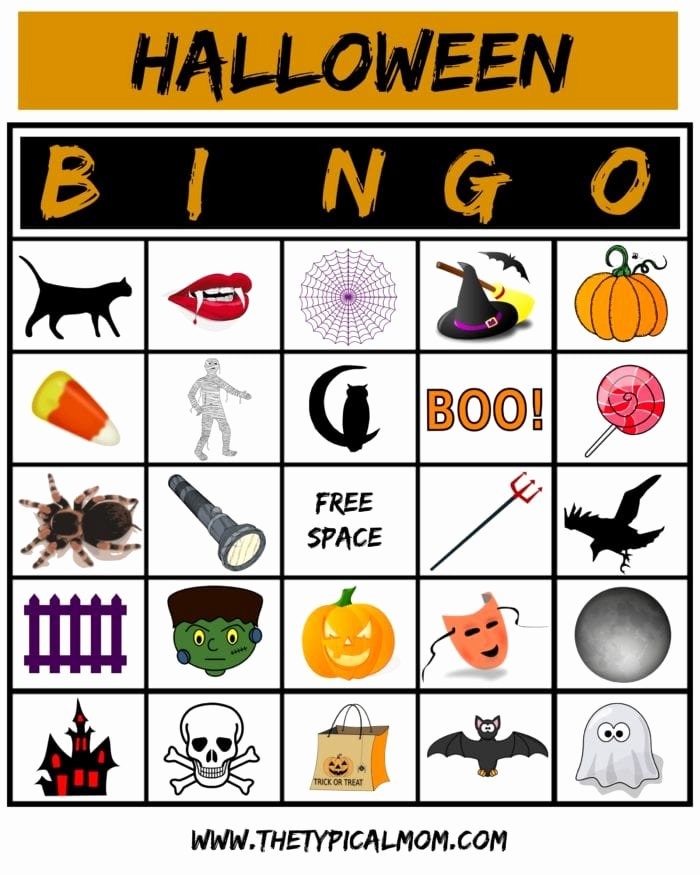 Free Printable Halloween Pictures Luxury Free Printable Halloween Bingo Cards Free Halloween