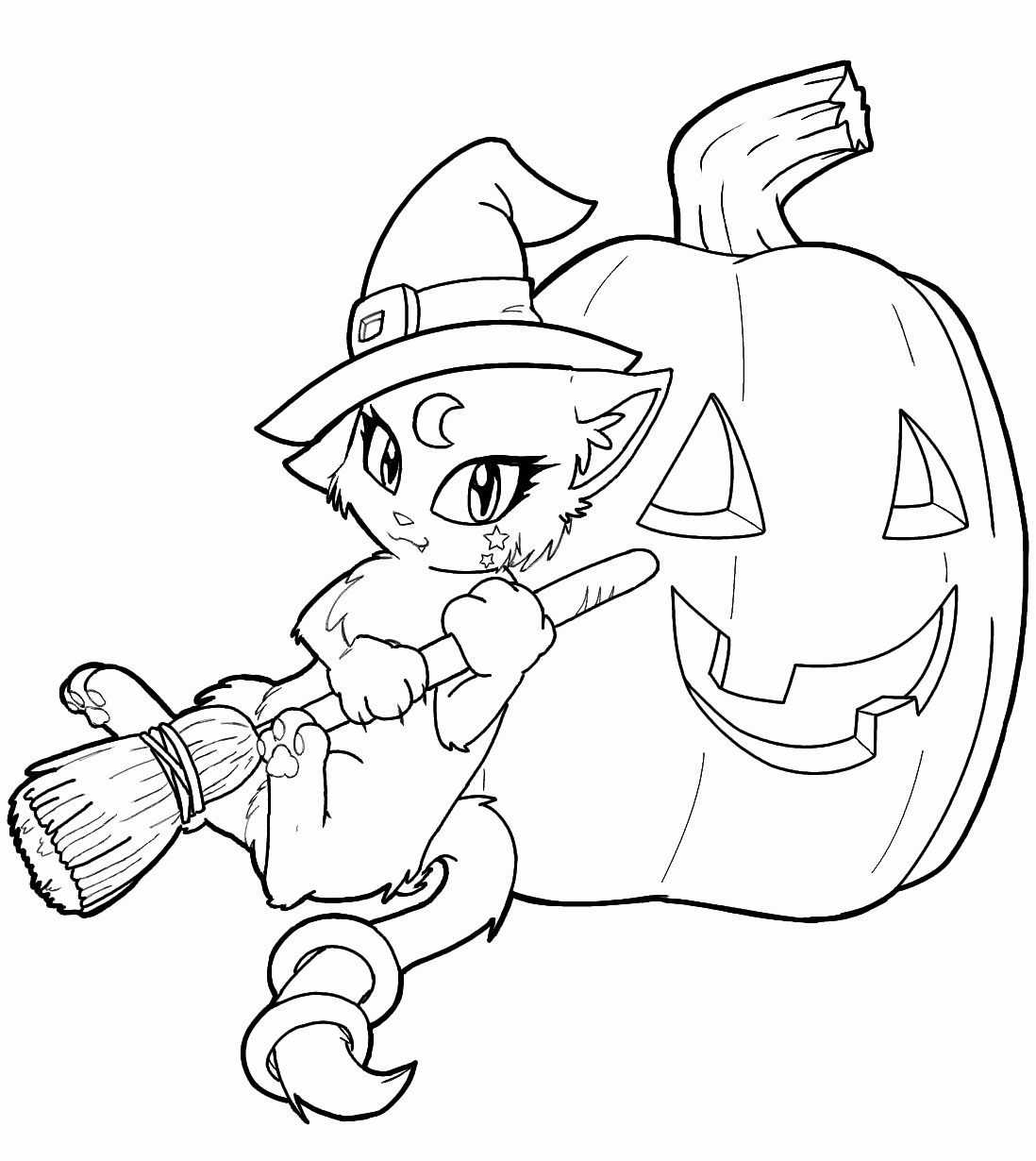 Free Printable Halloween Pictures Unique Free Printable Witch Coloring Pages for Kids