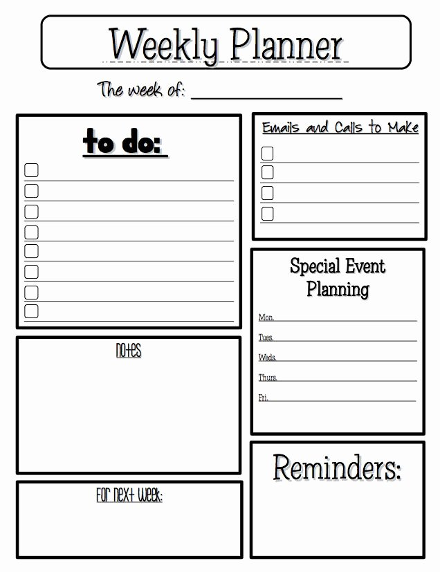 Free Printable Homework Planner Awesome Best 25 Homework Planner Printable Ideas On Pinterest