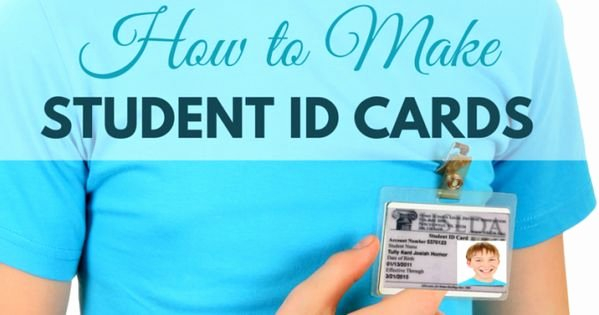 Free Printable Id Cards Beautiful How to Make Student Id Cards [free Printable