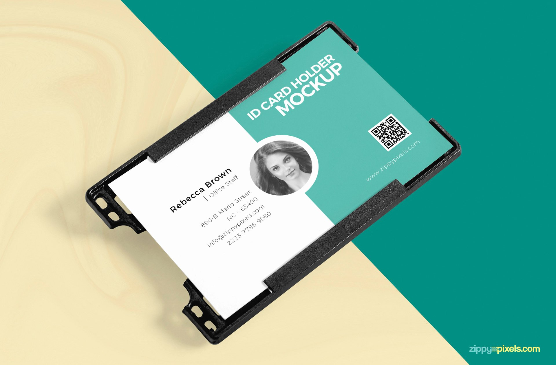 Free Printable Id Cards Beautiful Id Card Holder Mockup Free Psd Download