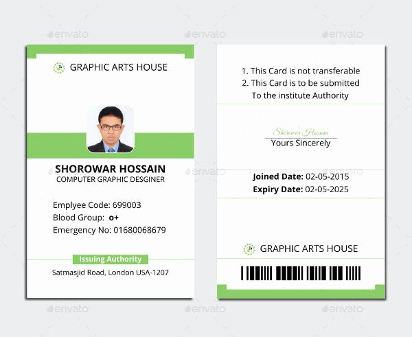 Free Printable Id Cards Best Of Free Printable Id Cards Templates