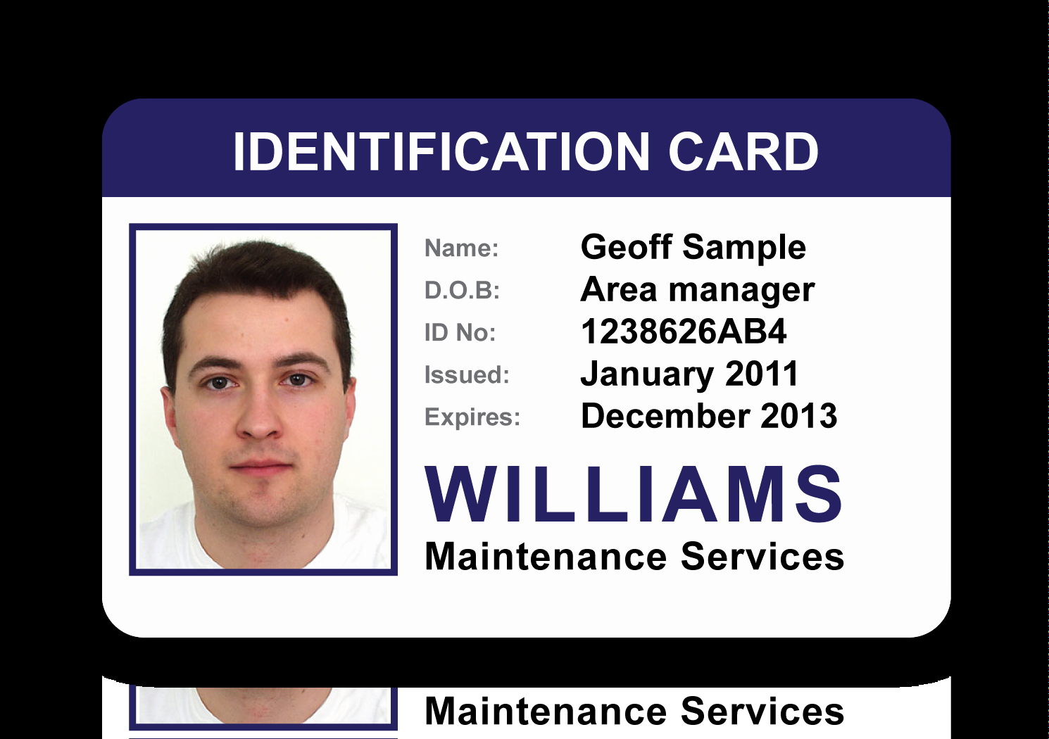 Free Printable Id Cards New Id Card Gallery An Image to View Larger Size – Go