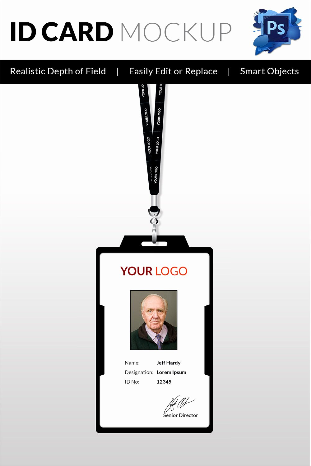 Free Printable Id Cards Unique 18 Id Card Templates – Free Psd Documents Download