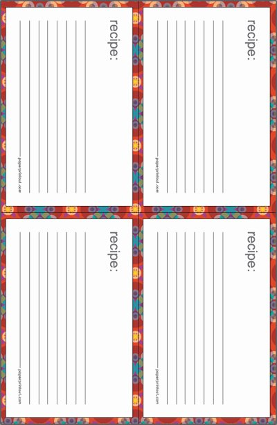 Free Printable Index Cards Unique Recipe Cards Download Free Printable Recipe Card Templates