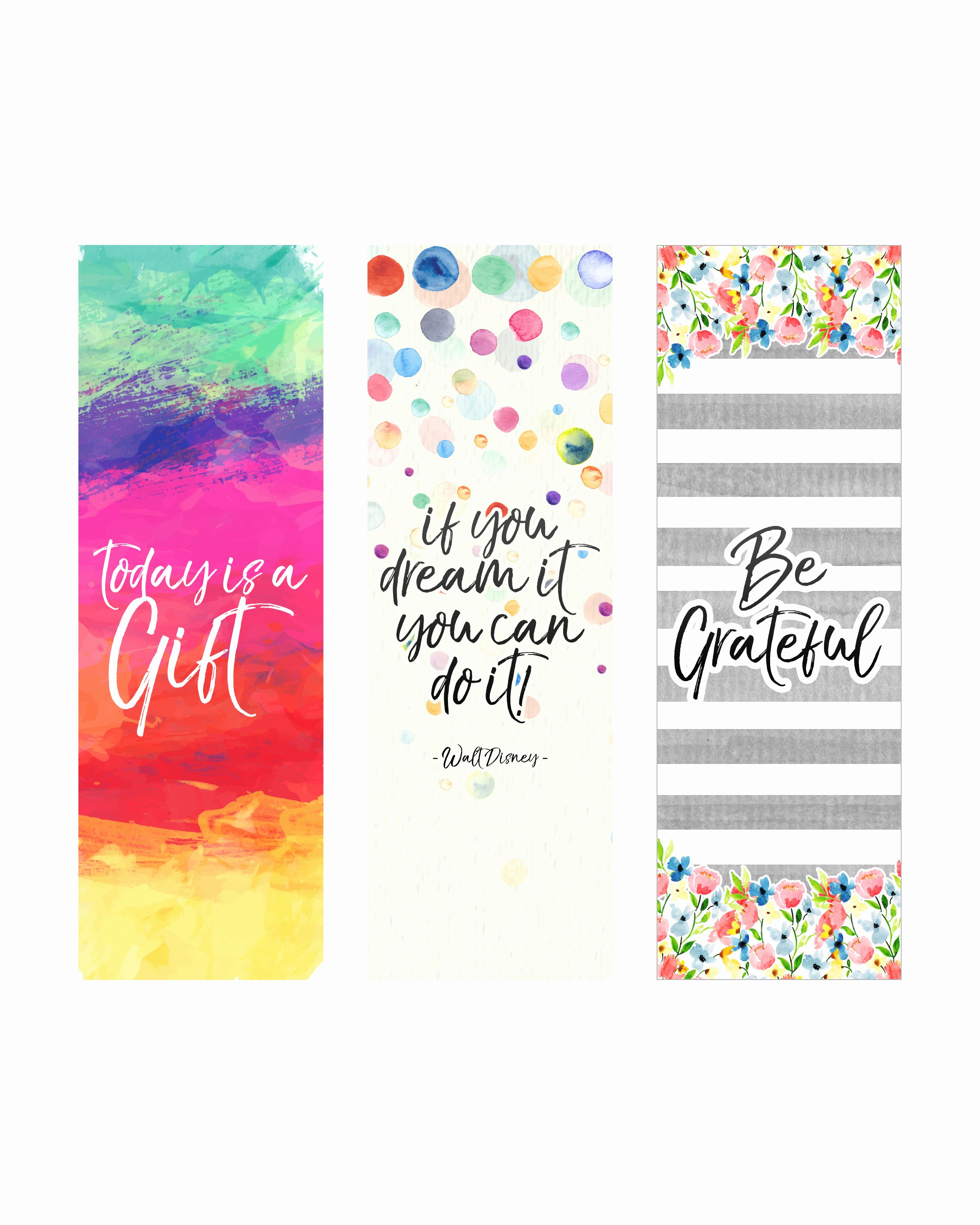 Free Printable Inspirational Bookmarks Beautiful Free Printable Inspirational Quote Bookmarks the Cottage