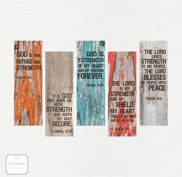 Free Printable Inspirational Bookmarks Best Of Christian Bookmark Template – 33 Free Psd Ai Vector Eps