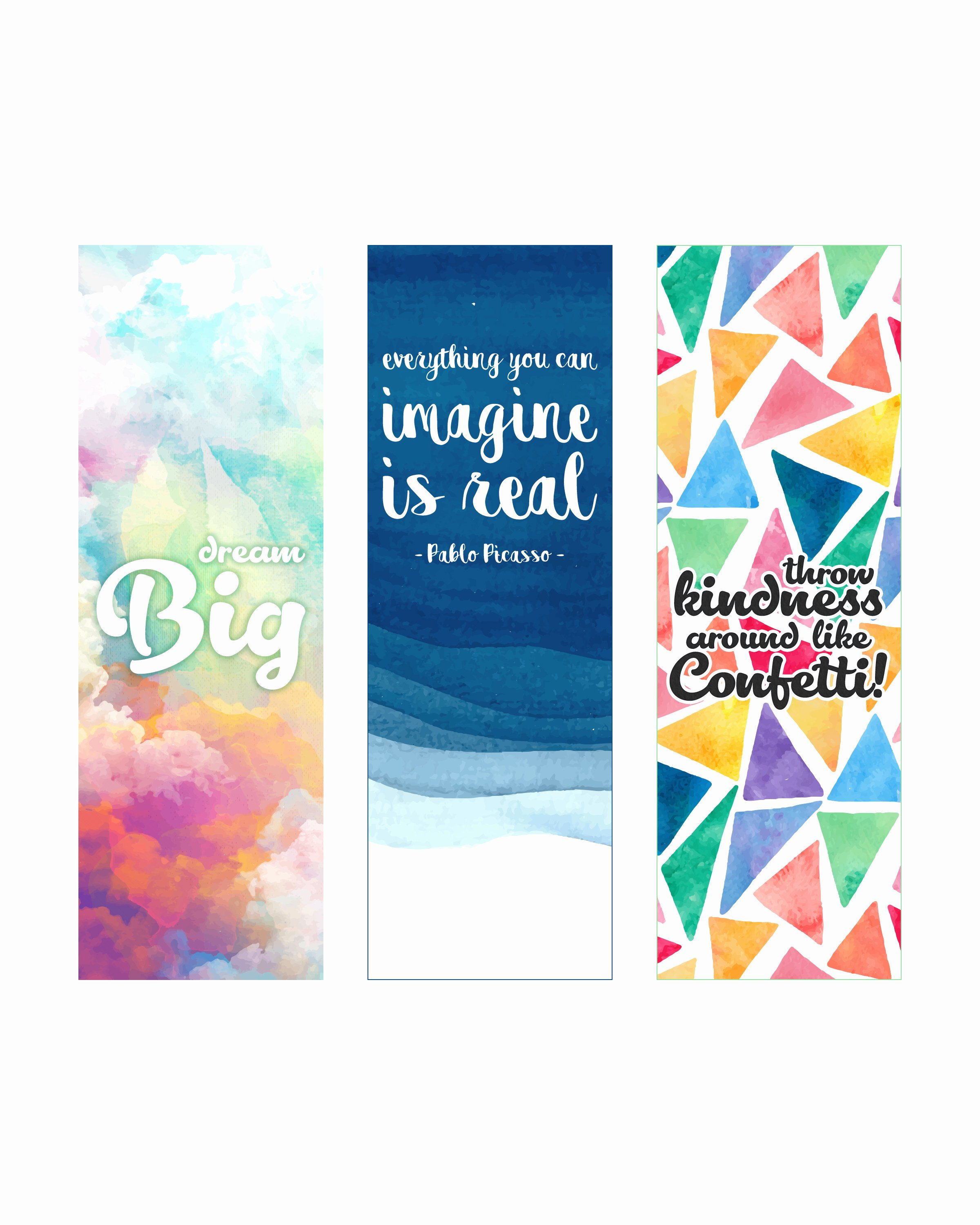 Free Printable Inspirational Bookmarks Lovely Free Printable Inspirational Quote Bookmarks the Cottage
