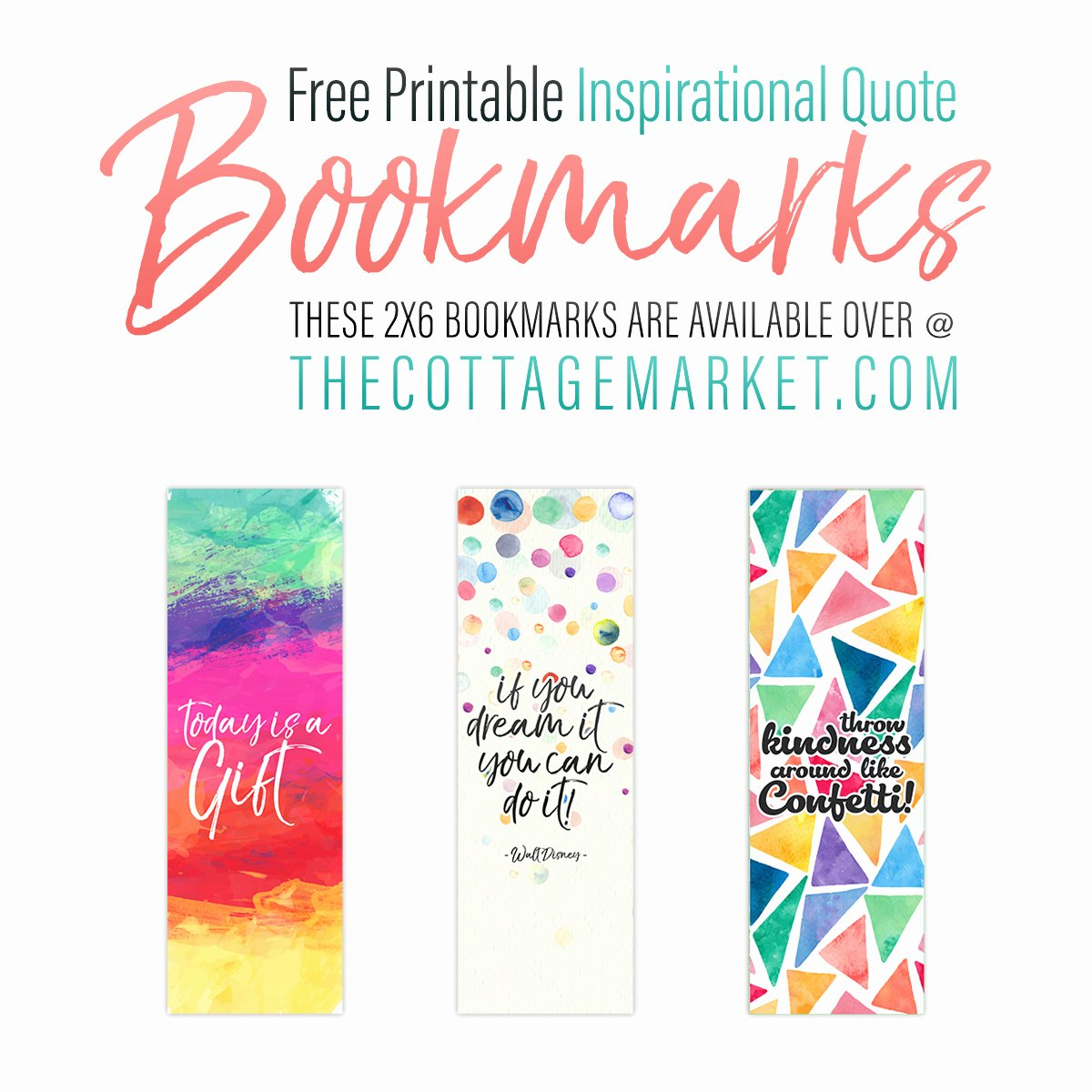 Free Printable Inspirational Bookmarks New Free Printable Inspirational Quote Bookmarks the Cottage