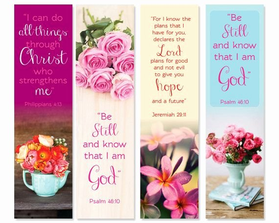 Free Printable Inspirational Bookmarks Unique Religious Quotes Free Printable Bookmark Quotesgram
