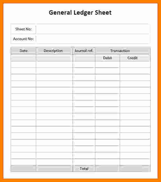 Free Printable Ledger Paper Awesome 7 Printable Accounting Ledger Paper