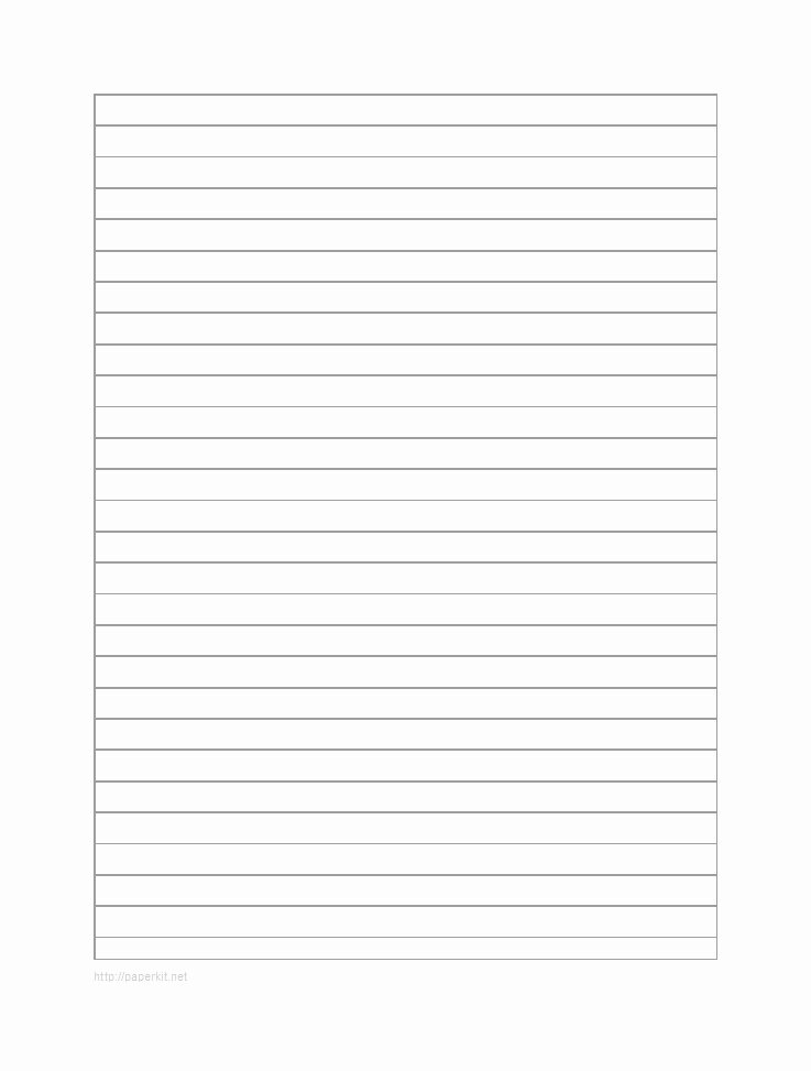 Free Printable Lined Paper Luxury 32 Printable Lined Paper Templates Template Lab