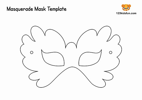 Free Printable Masks Templates Awesome Free Printable Masquerade Masks Template