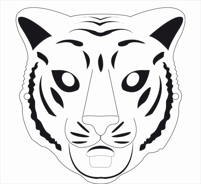 Free Printable Masks Templates Beautiful Animal Mask Template Animal Templates