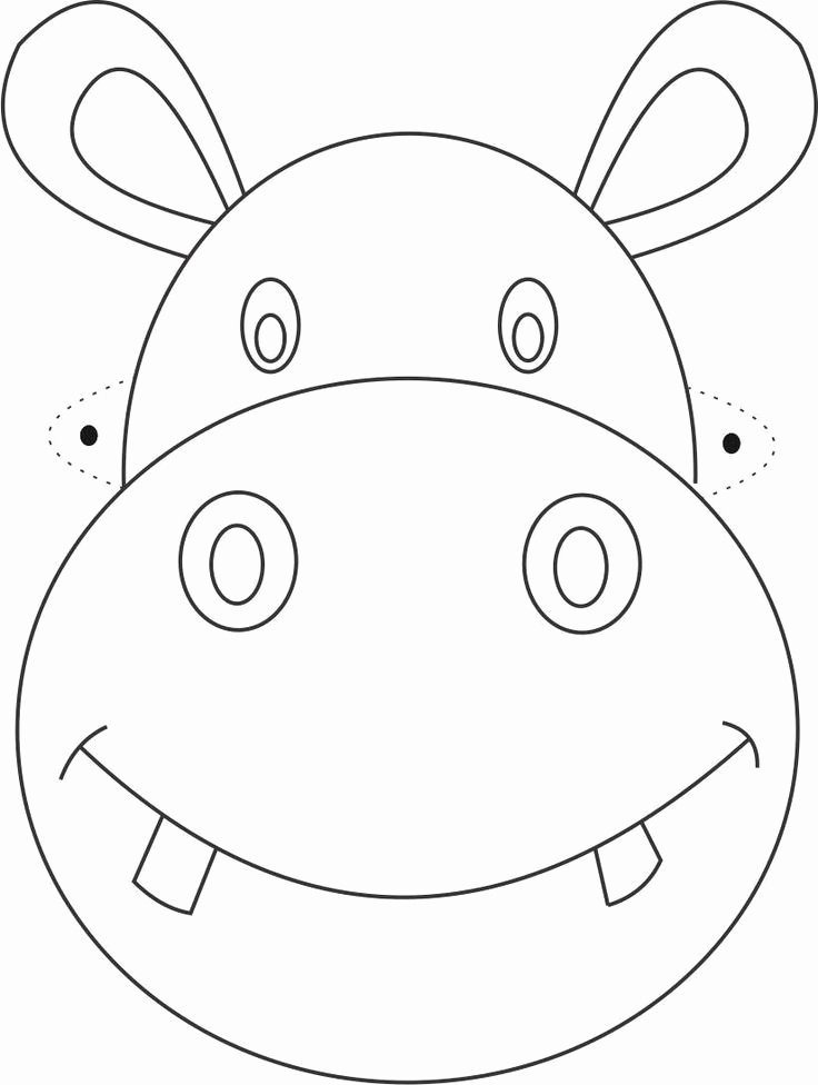 Free Printable Masks Templates Best Of Free Printable Animal Masks Templates