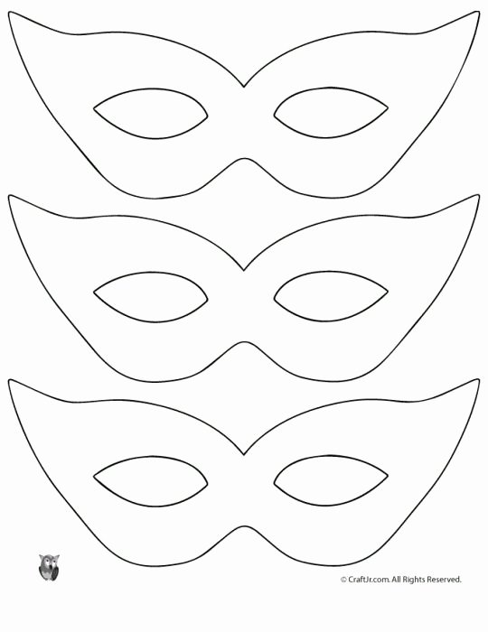 Free Printable Masks Templates Elegant Best 25 Mask Template Ideas On Pinterest