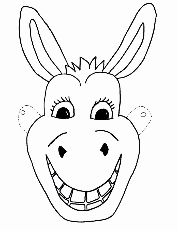 Free Printable Masks Templates New Animal Mask Template Animal Templates
