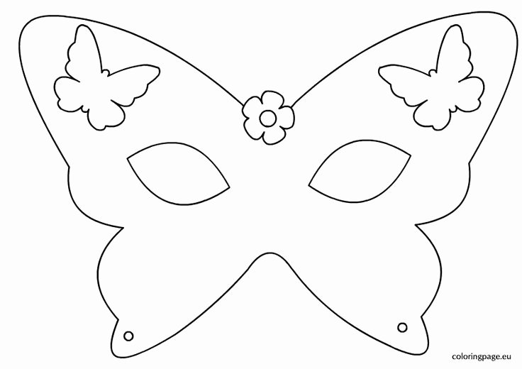 Free Printable Masks Templates Unique Best 25 Masquerade Mask Template Ideas On Pinterest