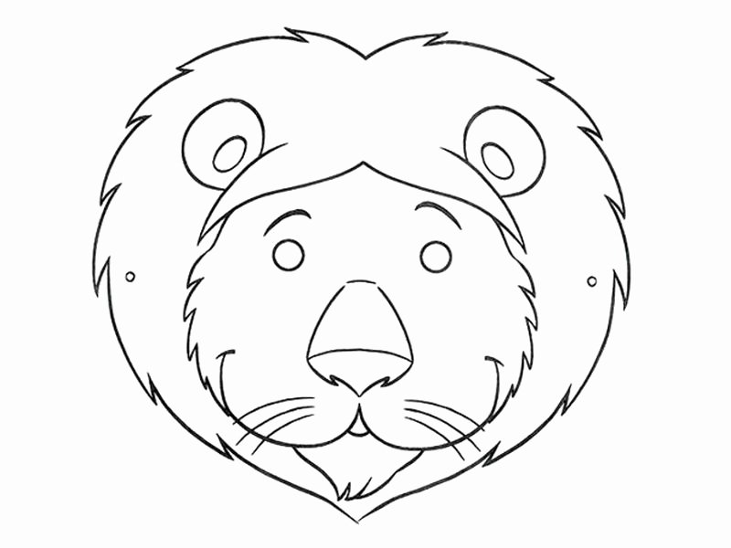 Free Printable Masks Templates Unique Free Printable Animal Masks Templates