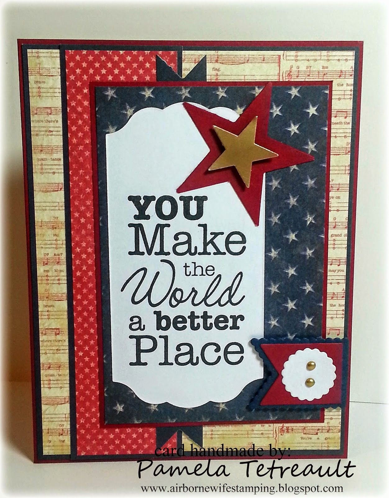 "Free Printable Military Greeting Cards Elegant Airbornewife S Stamping Spot Mftwsc182 ""you Make the"