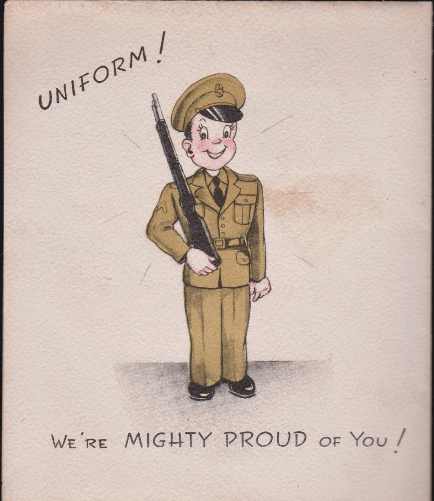 Free Printable Military Greeting Cards Luxury Vintage Recycling 1940s Wwii Greeting Cards for sol Rs