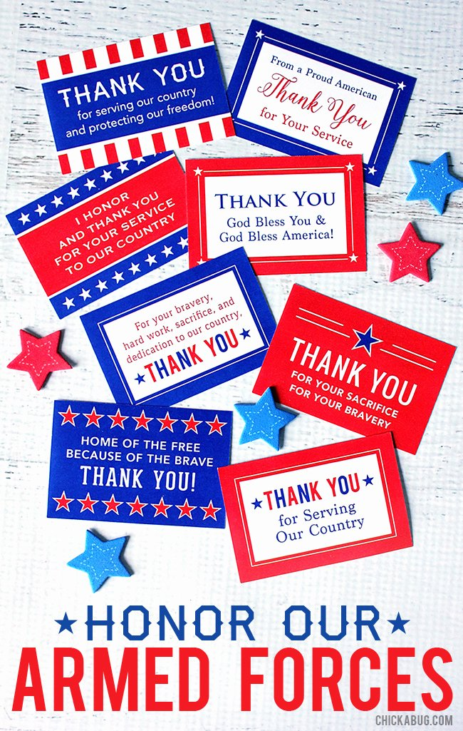 "Free Printable Military Greeting Cards Unique Free Printable ""honor Our Armed forces"" Cards"