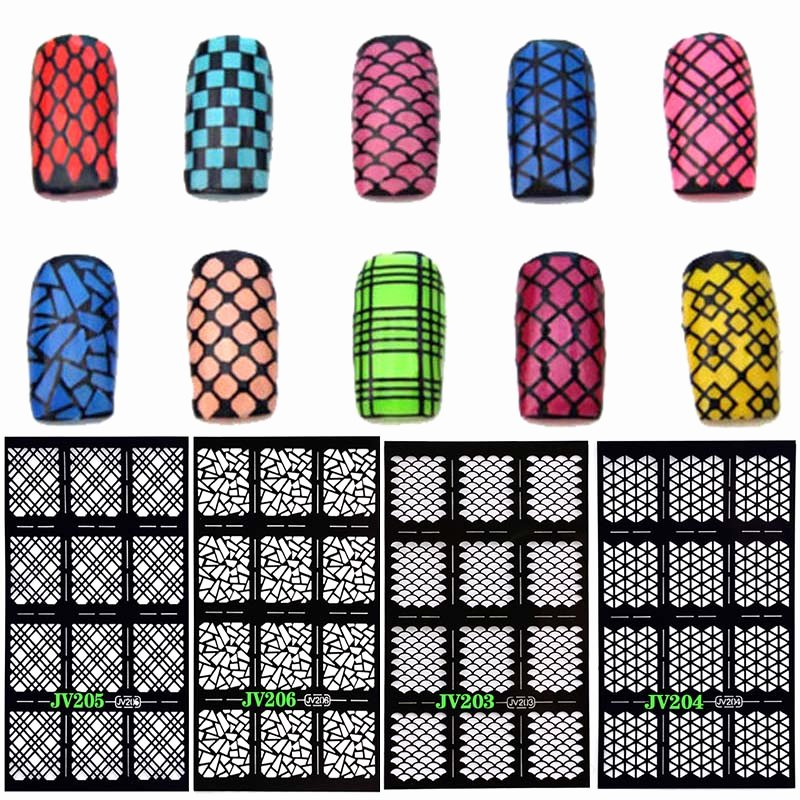 Free Printable Nail Art Stencils Inspirational 12 Tips Sheet Nail Art Manicure Stencil Stickers