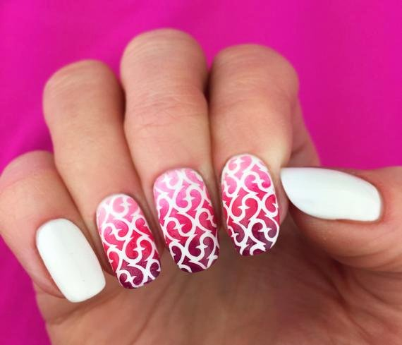 Free Printable Nail Art Stencils New Easy Nail Art Decals with Your Cricut Abbi Kirsten