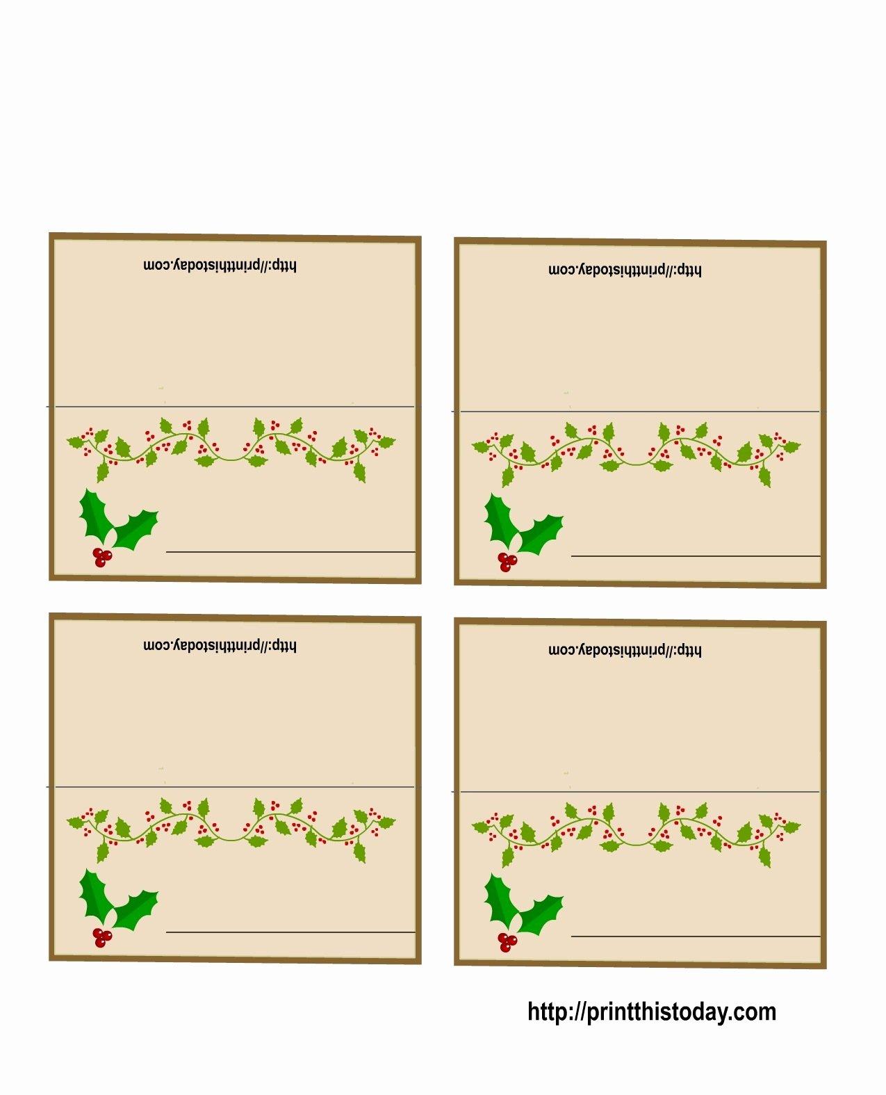 Free Printable Name Cards Elegant 19 Elegant & Fun Printable Place Cards